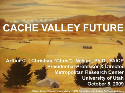 Cache Valley Future