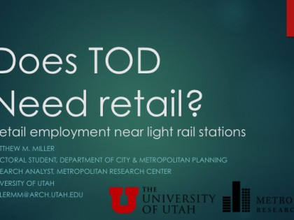 Does TOD Need Rail?